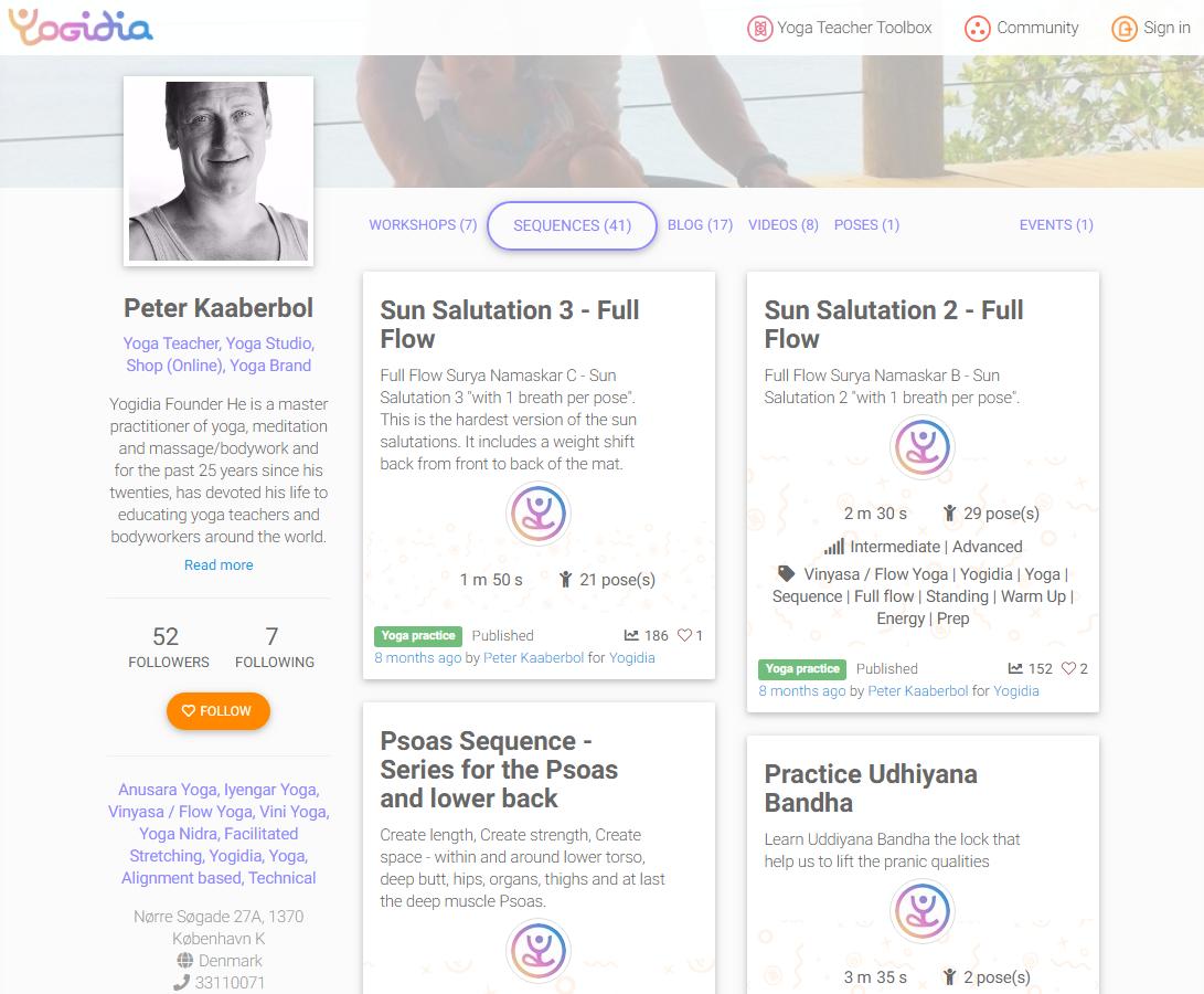 Yogidia Yoga Teacher Toolbox A Complete Online Toolbox For Yoga Professionals